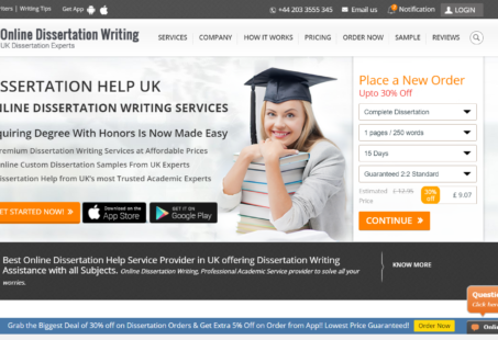 OnlineDissertationWriting Review